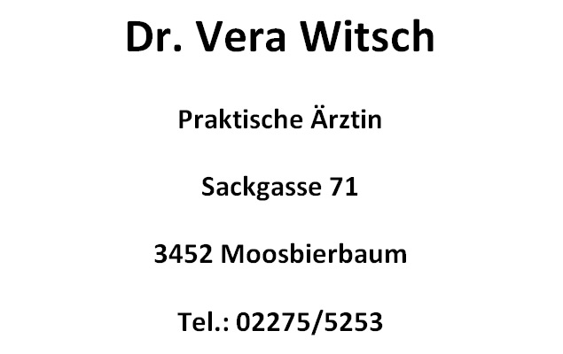 Dr. Vera Witsch